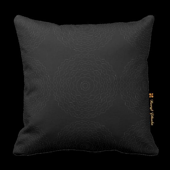 Monochrome Cushion - Small Circles
