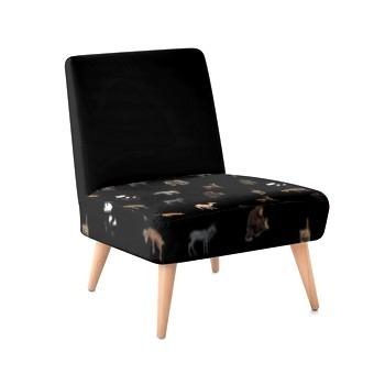Occasional Chair - Animal Print Design