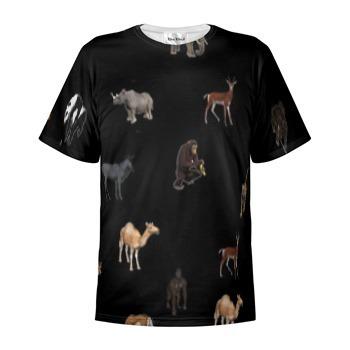 T-Shirt Cotton, Animal Print