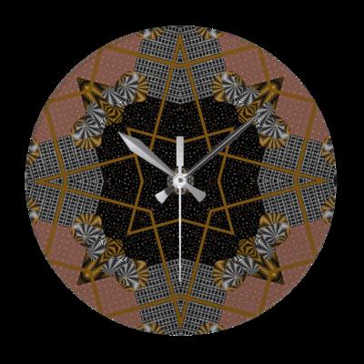 Multi print design wall clock - Round