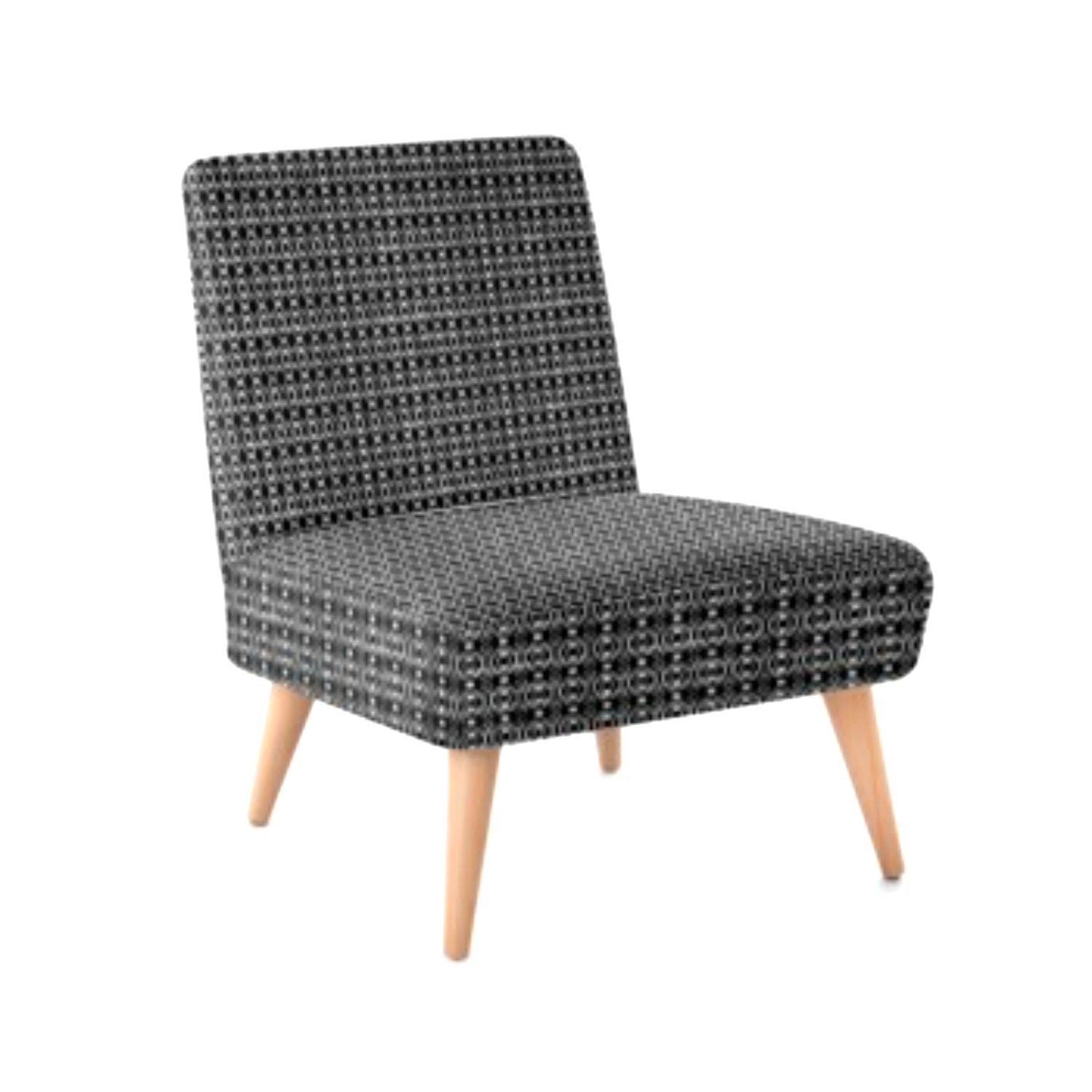 Occasional Chair - Knit Print Design