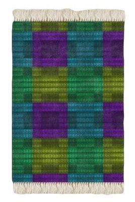 Floor Rug Multi Print Design