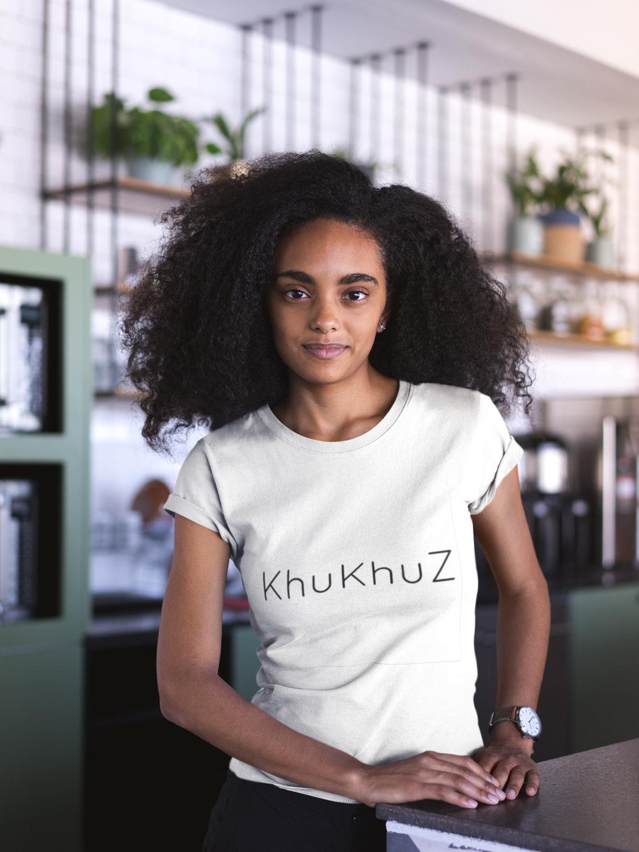 KHUKHUZ WHITE T-SHIRT