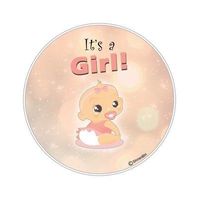 חולצת הריון של בת - it's a Girl!
