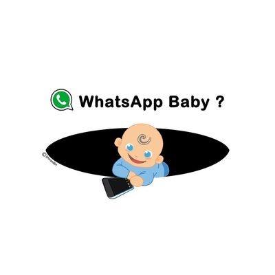 חולצת הריון של בן - WhatsApp Baby?