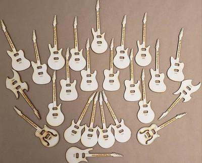 Mini Guitars 24 Pack