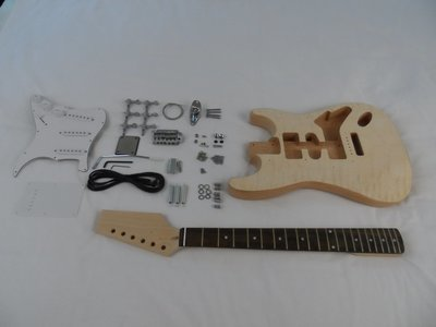 Quilted Maple Veneer Economy Double Cut Kit  ( Limited Quantities)