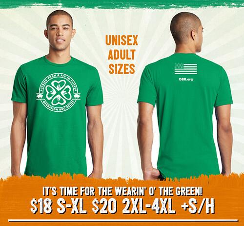 OBR St. Patrick's T-Shirt STPAT2020T