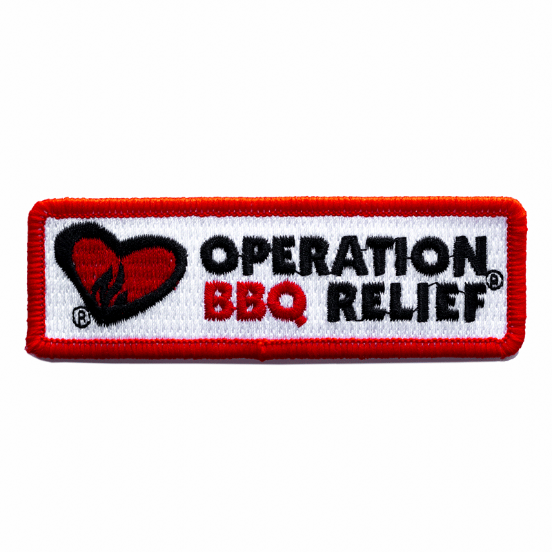 Operation BBQ Relief Patch - Non-Velcro OBRPatch-NV