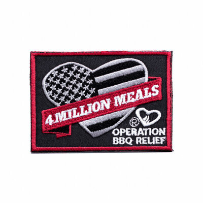 4 Million Meals - Operation BBQ Relief Patch