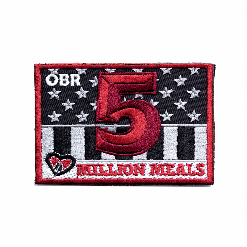 5 Million Meals Patch 5MPatch