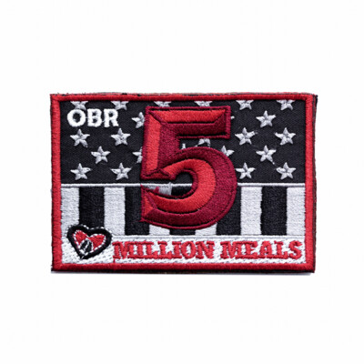 5 Million Meals Patch