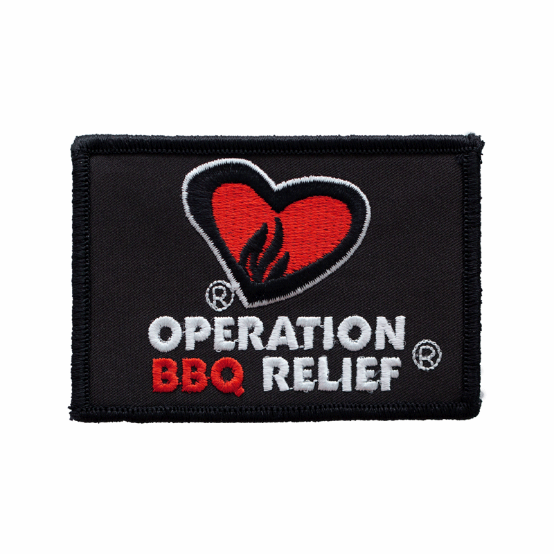 Operation BBQ Relief Patch - Black 60057