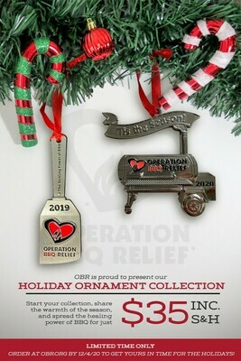 OBR Limited Edition Holiday Ornaments - 2020 & 2019