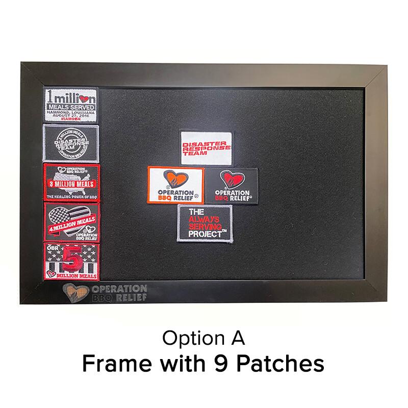 OBR Velcro Patch Frame