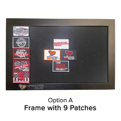 OBR Velcro Patch Frame