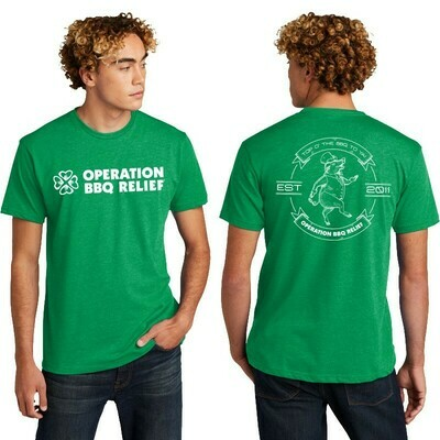 Operation BBQ Relief 2021 St. Patrick's T-Shirt