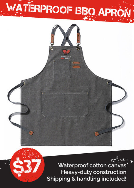 Waterproof BBQ Apron
