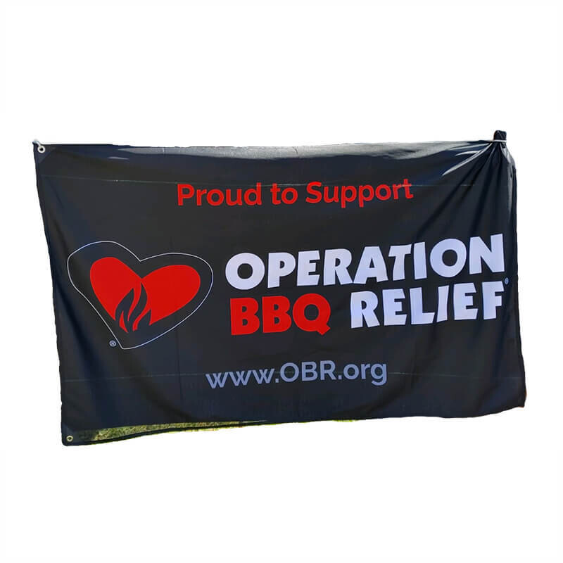 Operation BBQ Relief Flag