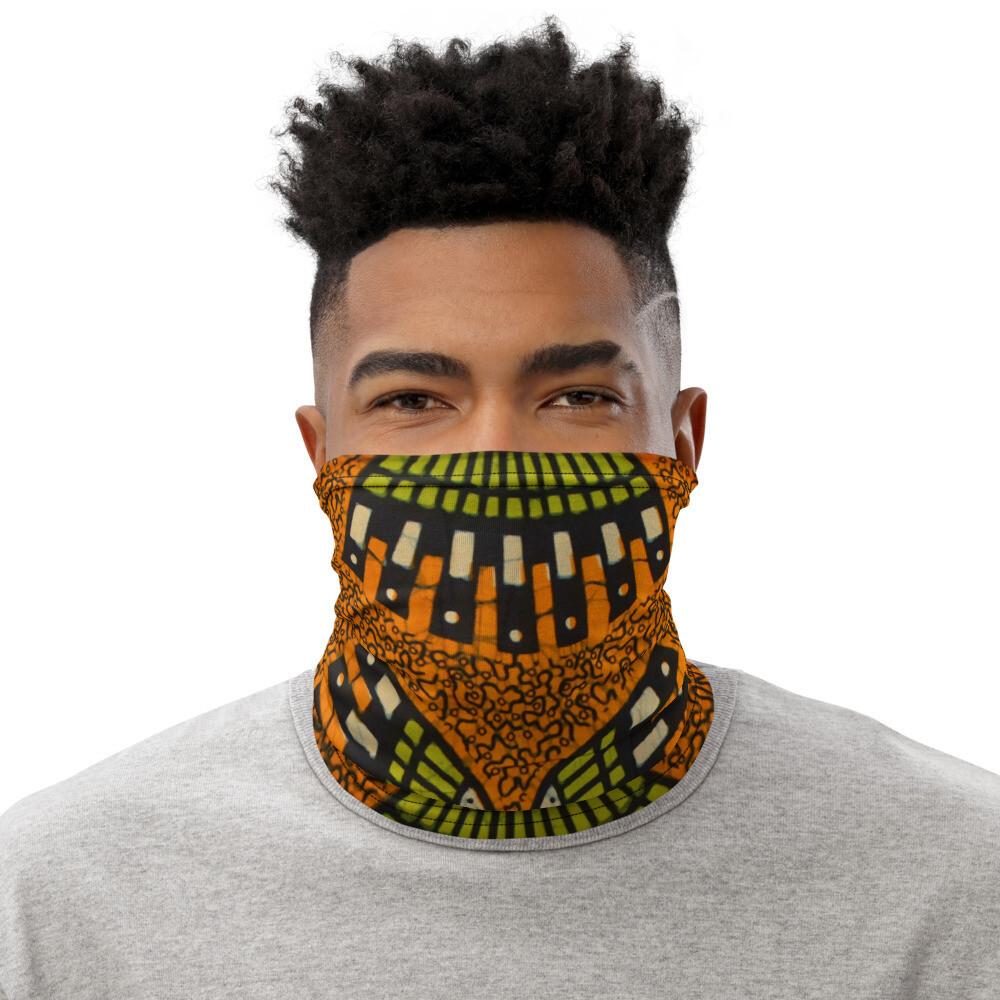 ISSA African Print Neck Gaiter #004