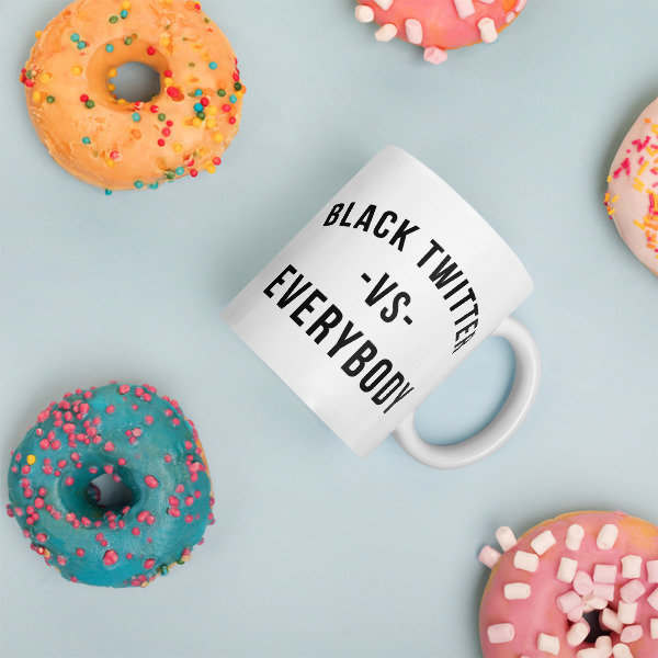 Issa • Black Twitter Mug