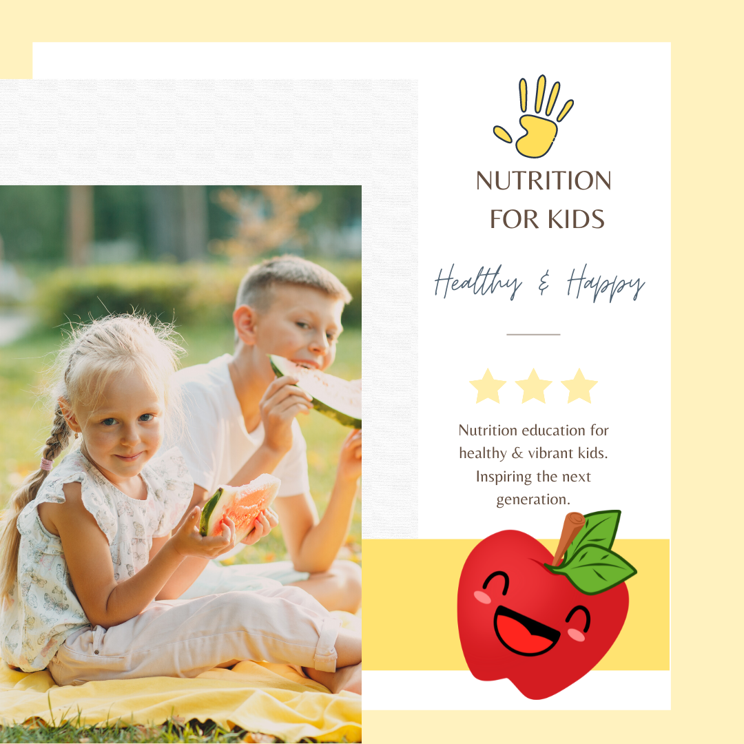 Nutrition for kids - Healthy & Happy