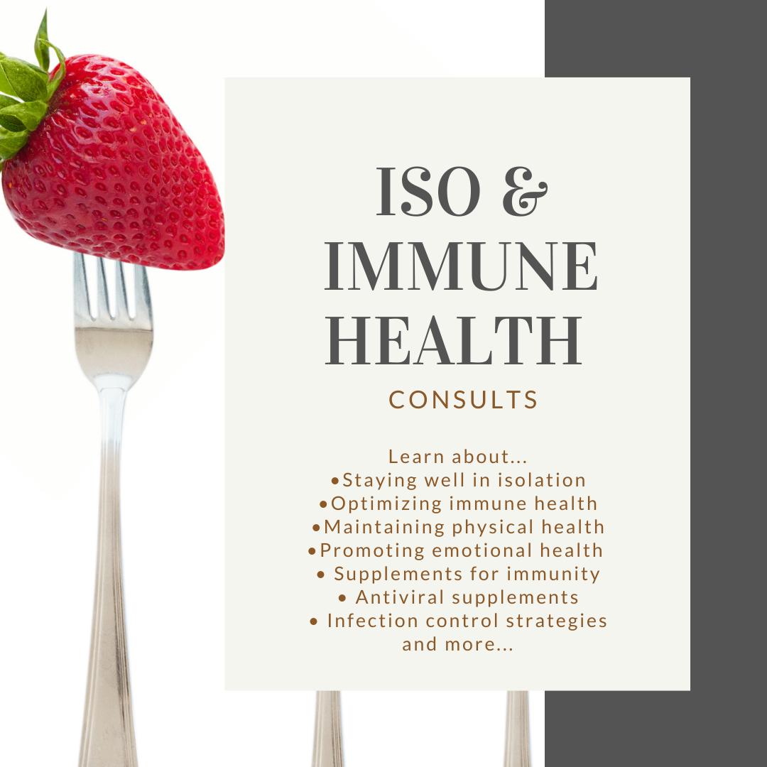 Isolation & Immune Health Consultation