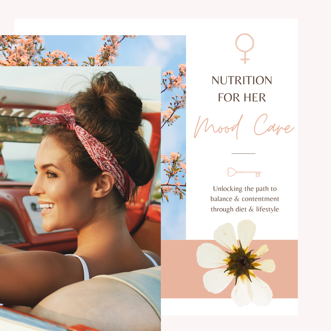Nutrition for her - Mood Care Boot Camp