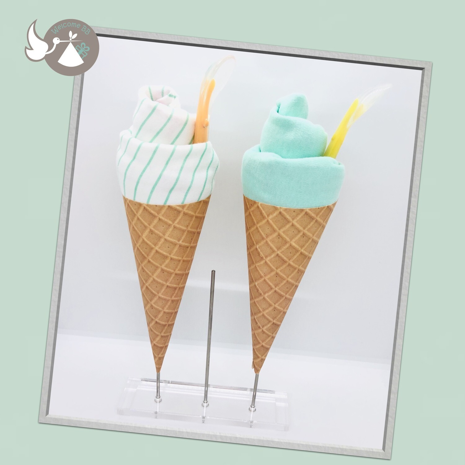 Glace menthe
