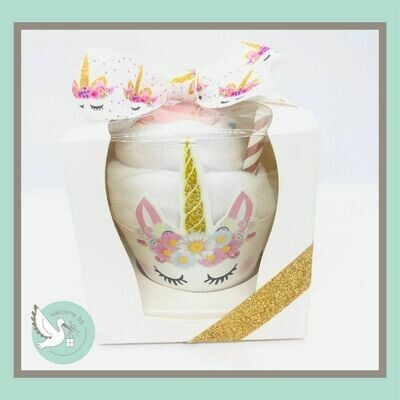 1 cupcake : Licorne