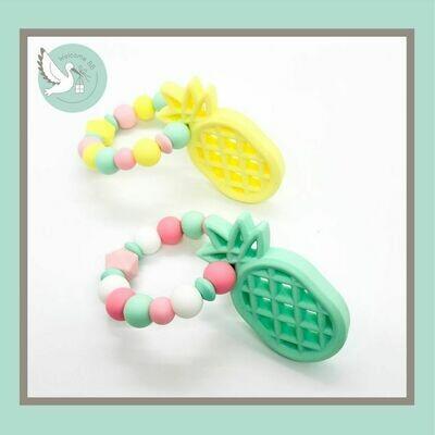Anneau de dentition : Ananas