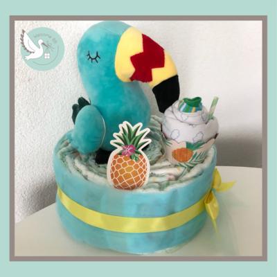 Gâteau: Toucan