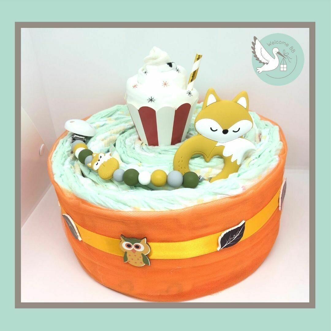 Gâteau: Renard