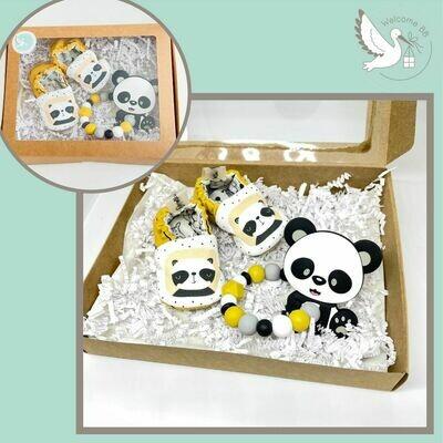 """Coffret """"P'tits Petons"""": Panda"""