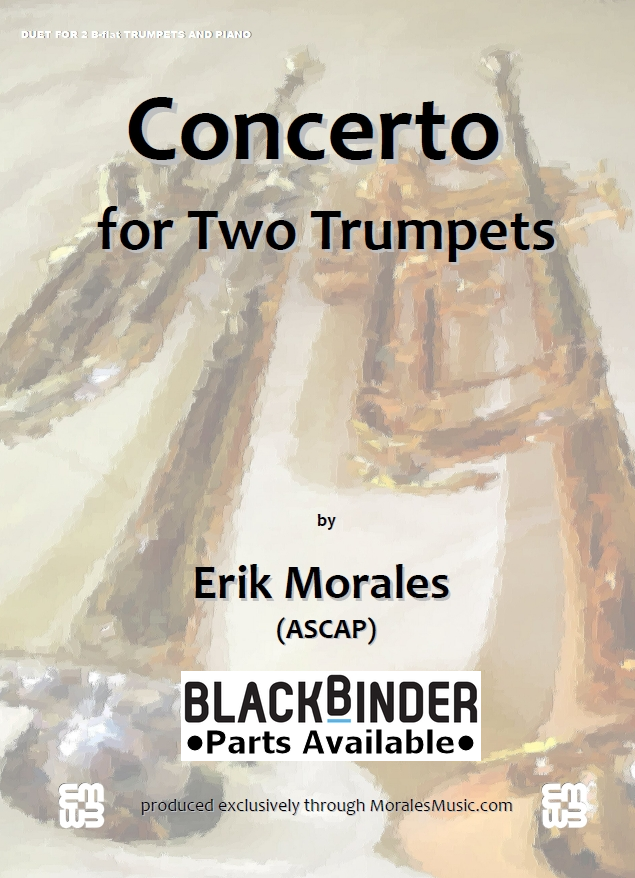 Concerto for Two Trumpets - Piano Accompaniment 00042