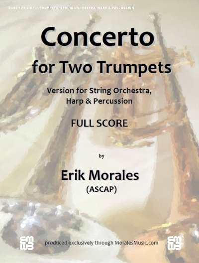 Concerto for Two Trumpets - String Orch. Version 00090
