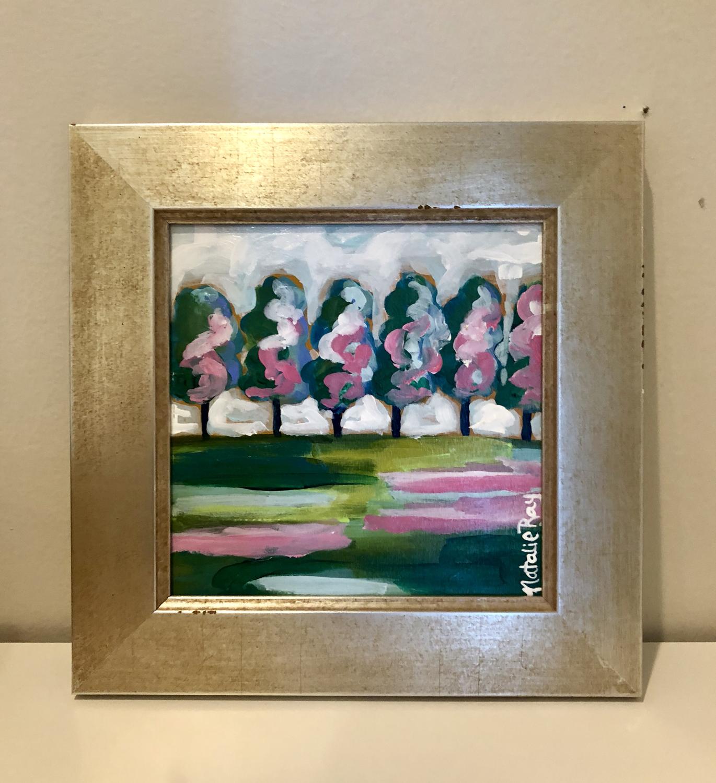 Landscape- 6x6 (framed)