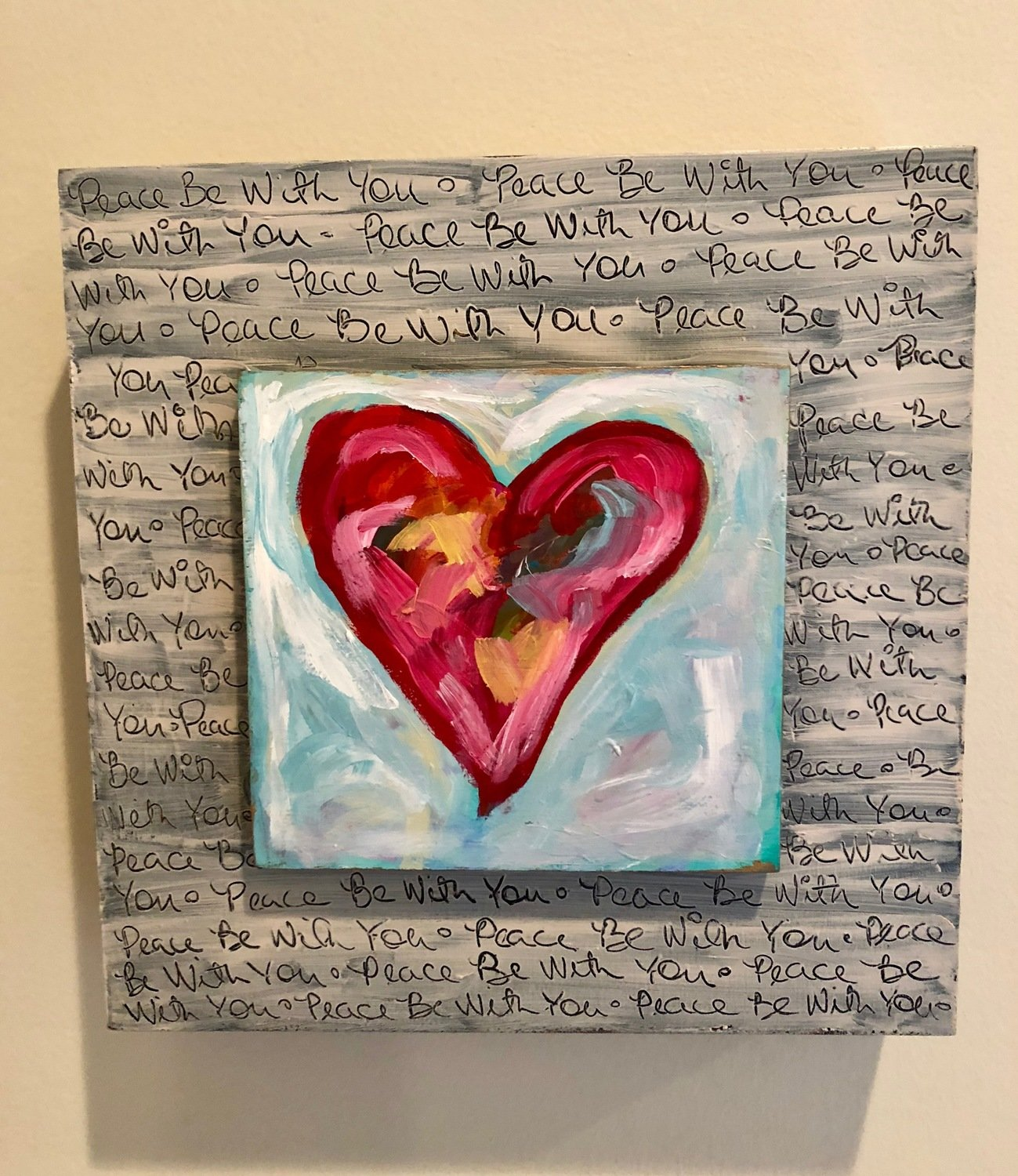heART Painting: Peace Be With You