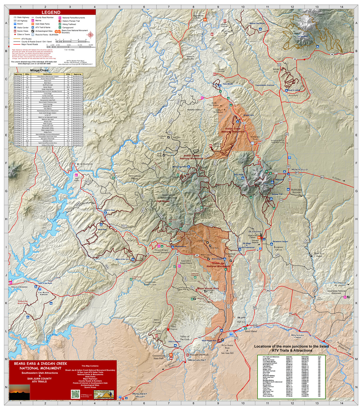 Bears Ears National Monument & San Juan County Utah Attractions