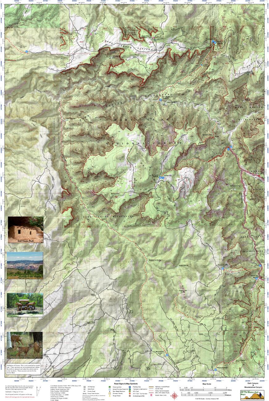 Dark Canyon - Woodenshoe Canyon