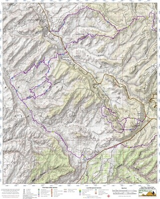 Piute Pass, Jacobs Chair, & Tables of the Sun OHV Trails