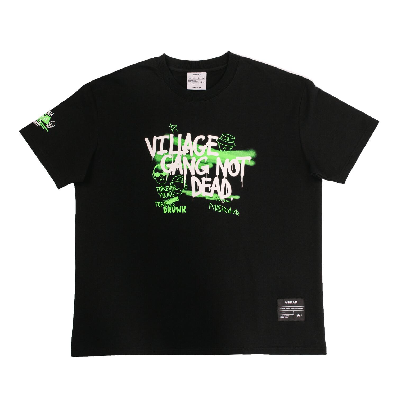 """T-Shirt """"Village Gang Not Dead"""""""