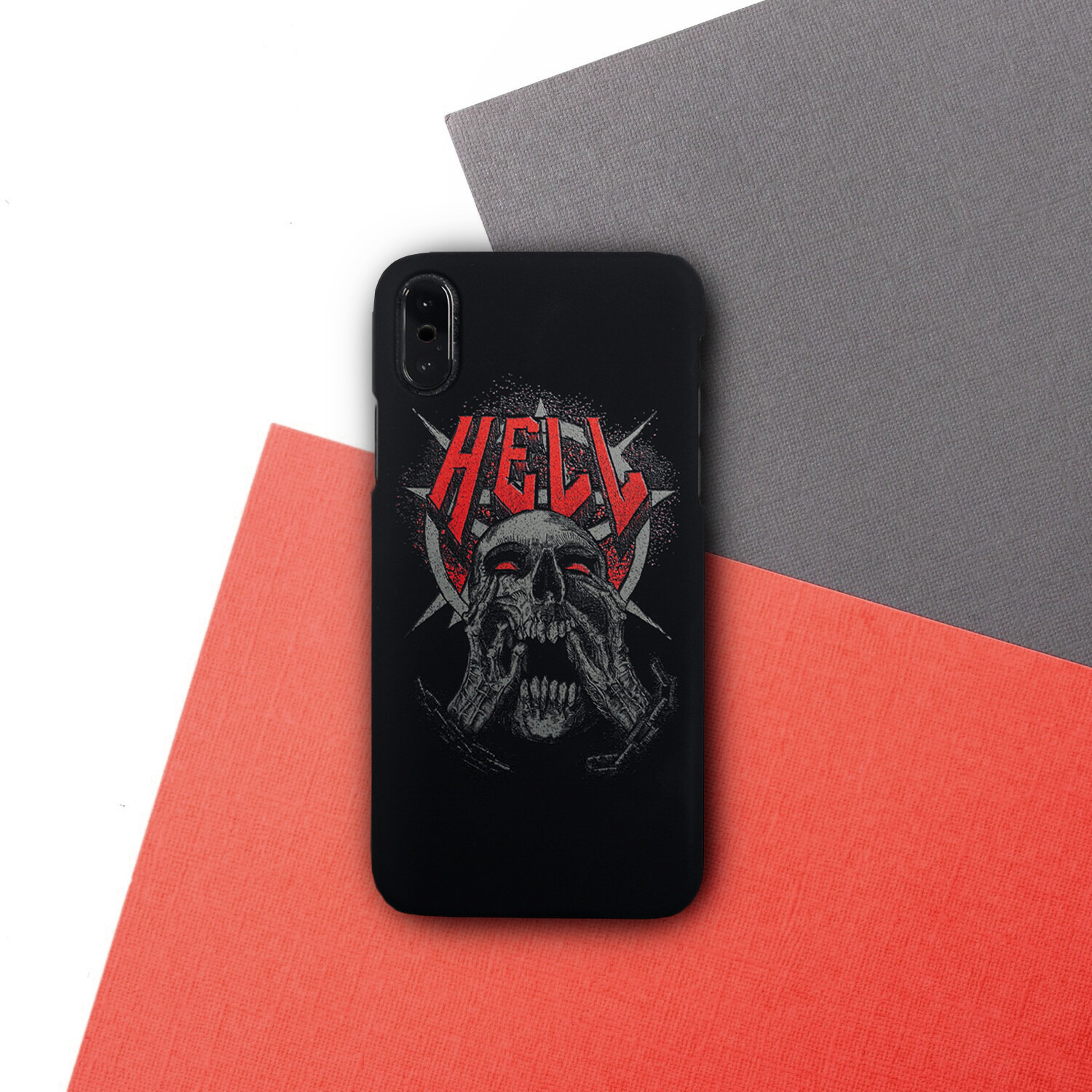 "Чехол для iPhone ""HELL"""