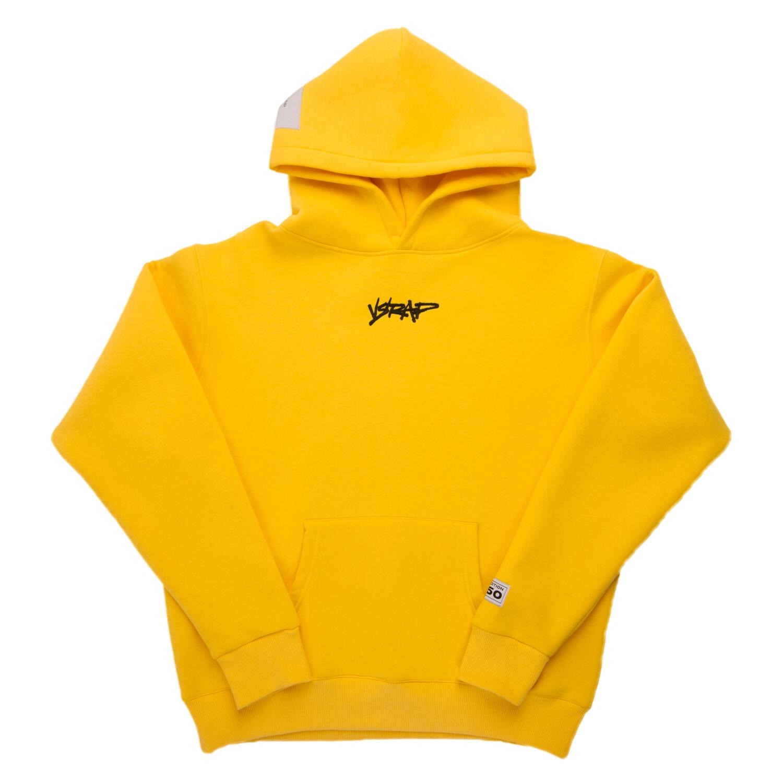 """Худи """"VSRAP"""" yellow"""