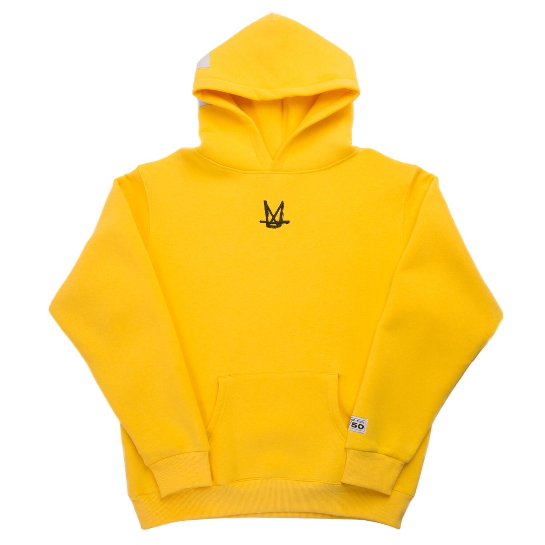 "Худи ""Maximax"" yellow"