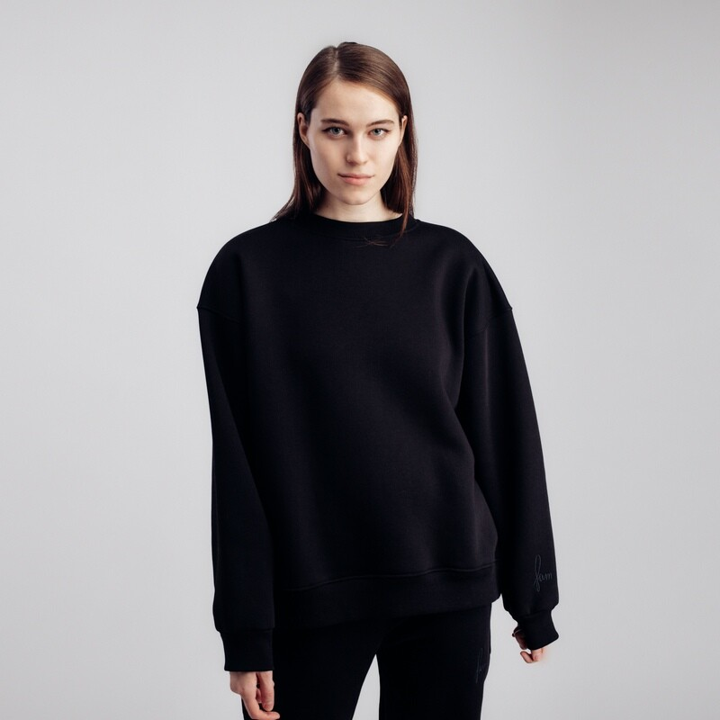 "Свитшот ""fam basic"" black"