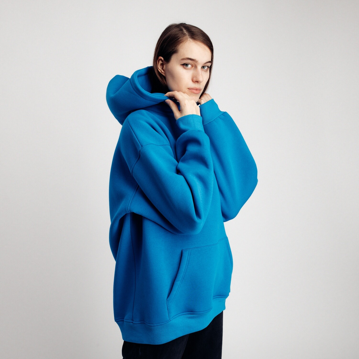 "Худи ""fam basic"" blue"