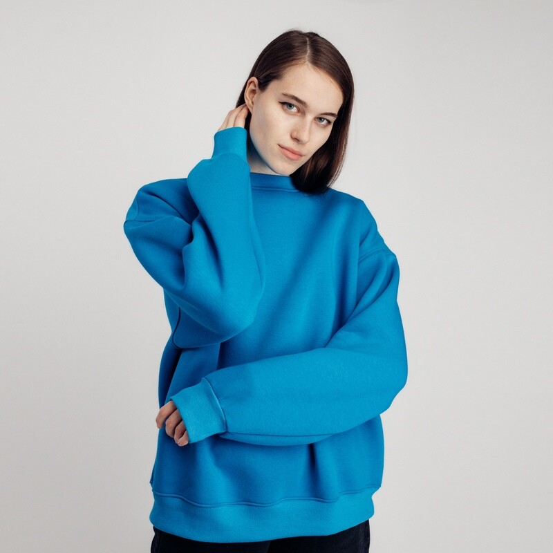 "Свитшот ""fam basic"" blue"
