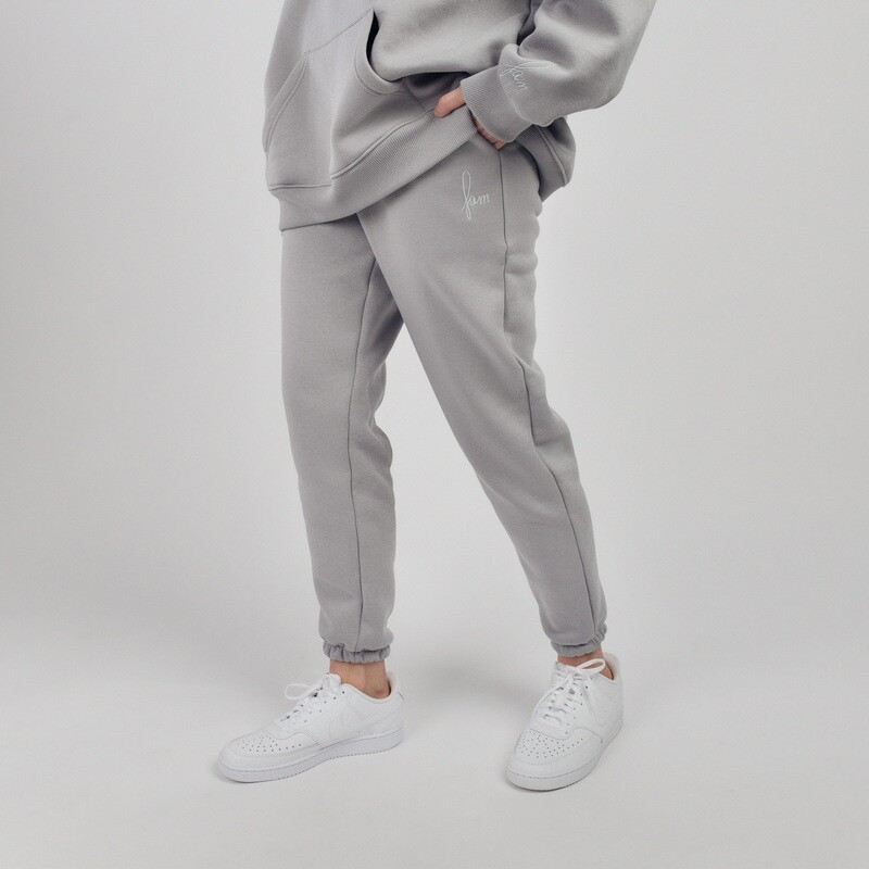 "Штаны ""fam basic"" light grey"