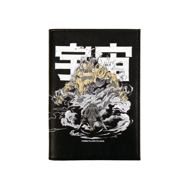 """Обложка на паспорт """"Fullmetal Warrior"""""""